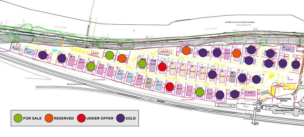 Waterside Park Site Plan 2021